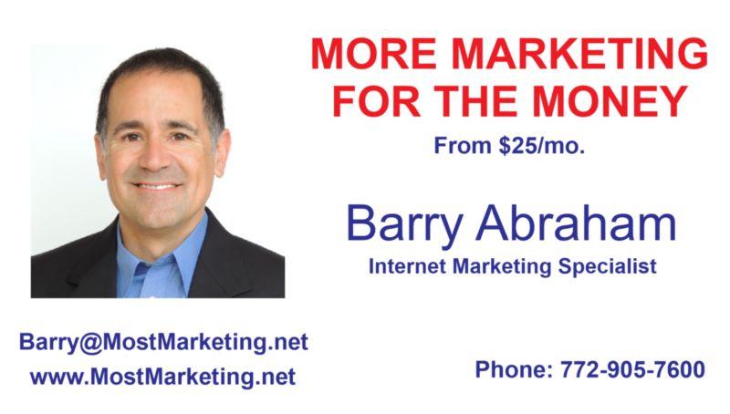 business card of Jeff Cebula